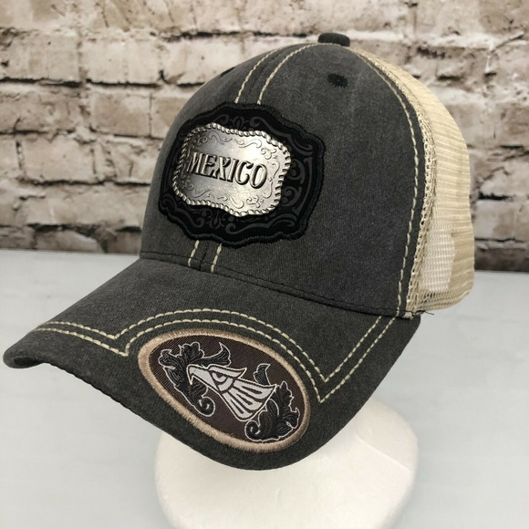 a9b77c73 Accessories | Mexican Mesh Trucker Hat Snap Back Mexico | Poshmark